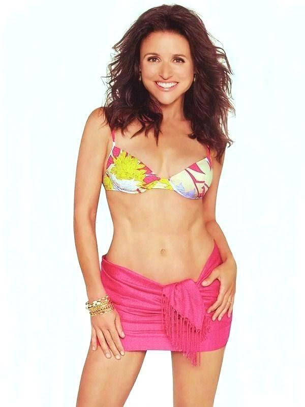 Kristen Bell Photos Bikini: Hotness Contest #59 - Mary-Louise Parker vs Julia Louis-Dreyfus