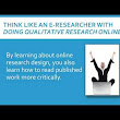 Doing Qualitative Research Online  - YouTube