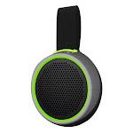 Braven 105 Waterproof Bluetooth Speaker - Silver/Green