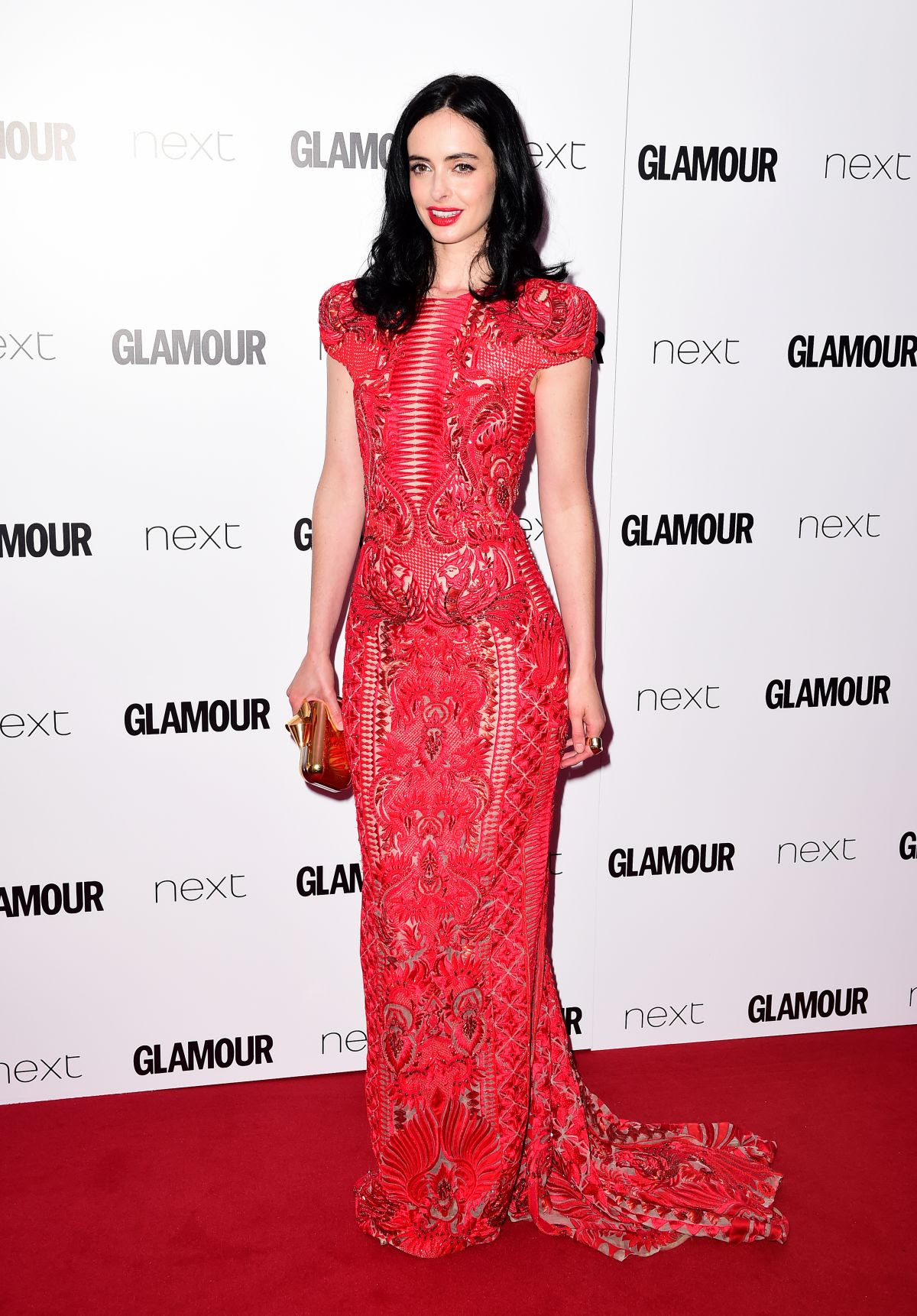 KRYSTEN RITTER at Glamour Women of the Year Awards 2016 in London 06/07/2016