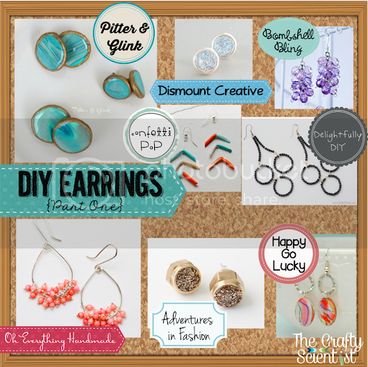 DIY Earrings Roundup {Part 1}
