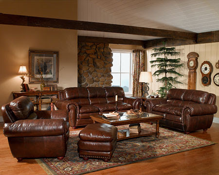 Brown Leather Sofas for home interiors | Design, Pictures, Ideas ...