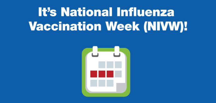 Its National Influenza Vaccination Week!