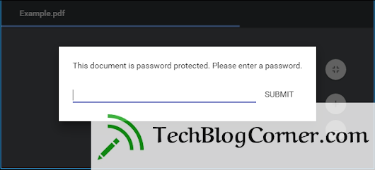 How to Remove Password from a PDF File - TechBlogCorner®