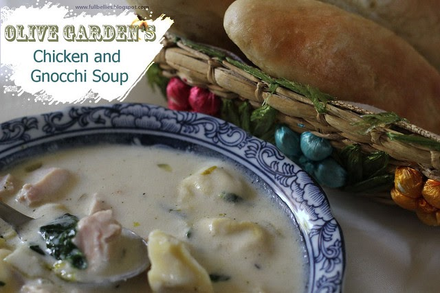 Full Bellies Happy Kids Olive Garden 39 S Chicken And Gnocchi Soup