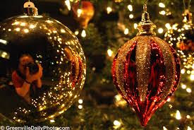 the christmas decorations