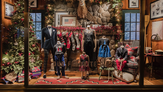 Take a virtual tour of New York City's iconic holiday windows