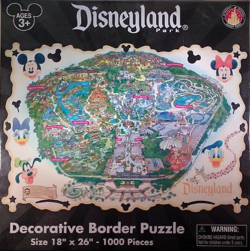 Disneyland Theme Park 1000 Piece Jigsaw Puzzle - Theme Park Exclusive & Limited Availability — Pixie Spot
