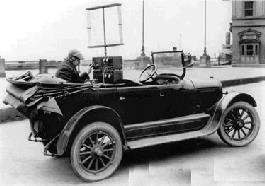 First Car Mounted Telephone