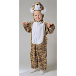 Tiger Striped Plush 1 To 2