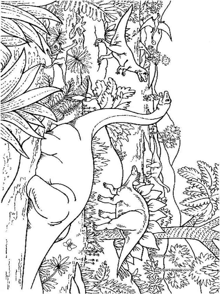 dinosaurs coloring pages 15