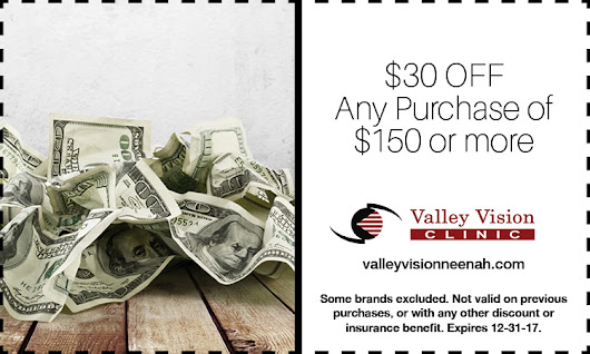 Promotions | Valley Vision Clinic