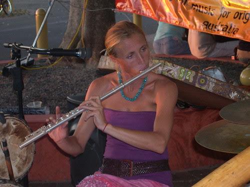 Jabaru Flautist Rene Bradshaw