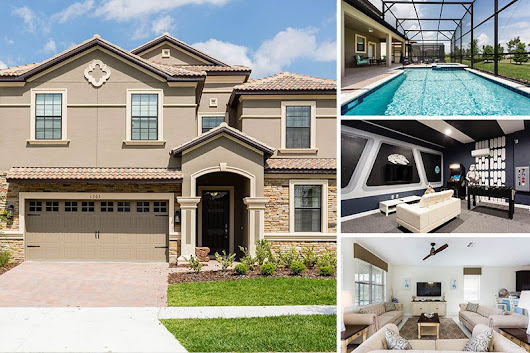 Champions Gate Home Rental | Champions Magic | 8BR