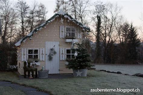 spielhaus tom garten haus dekoration advent kinder