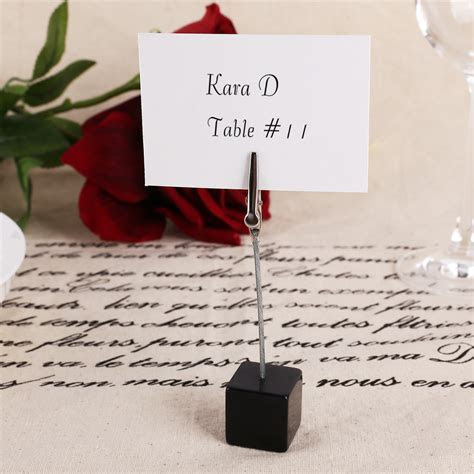 10x Wedding Office Meeting Place Card Holders Table