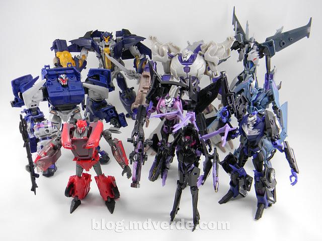 Transformers Dreadwing - Prime RID - modo robot vs Decepticons Prime
