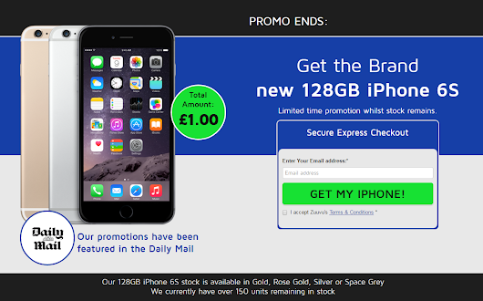 Be very wary of the latest scam on cheap #iPhones going around at the moment