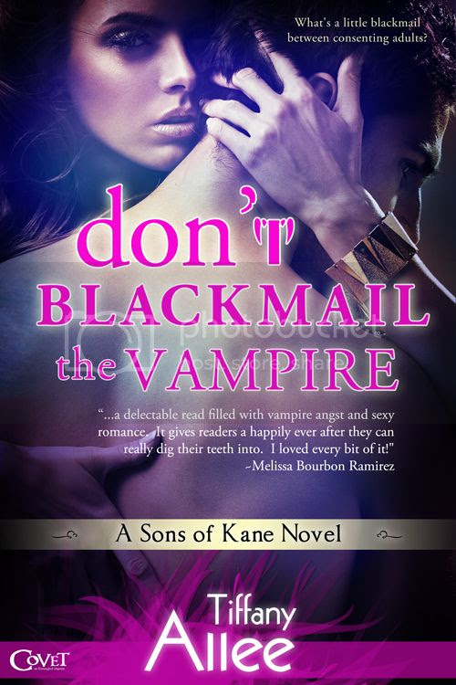 Don't Blackmail the Vampire Cover
