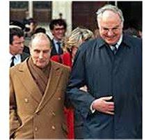 Helmut Kohl/François Mitterand