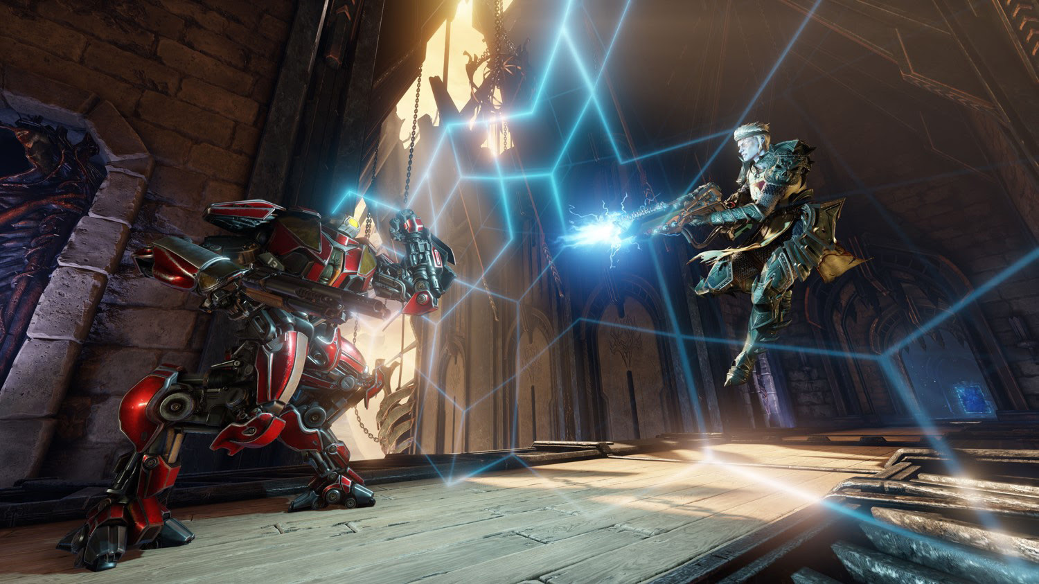 Quake Champions will be playable through Steam screenshot