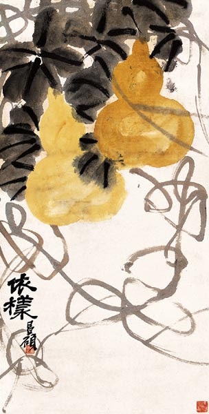 吴昌硕 WU Changshuo - Copying