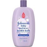 Johnson's Baby Bedtime Bubble Bath and Wash - 28oz