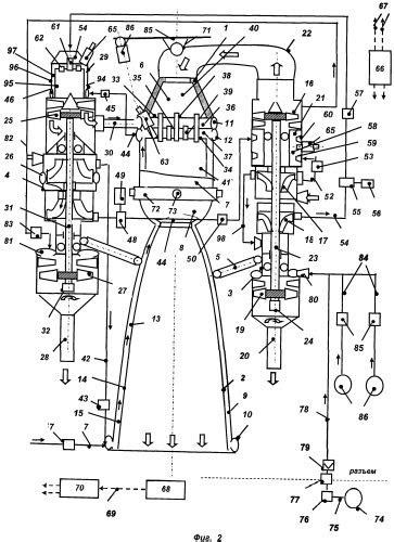 Liquid propellant rocket engine