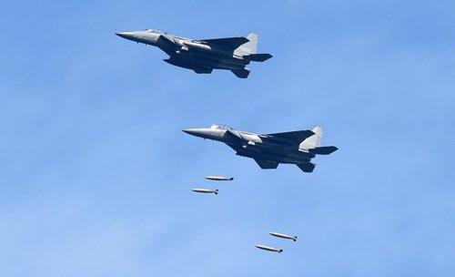 south korea drills