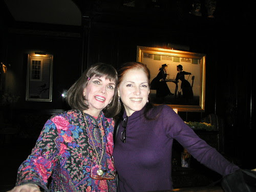 With Sherry at The National Arts Club