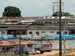 Complexo Penitenciário de Pedrinhas, em São Luís (Foto: Biaman Prado/O Estado)