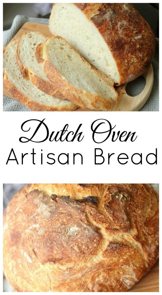 Dutch Oven Artisan Bread - Clever Housewife