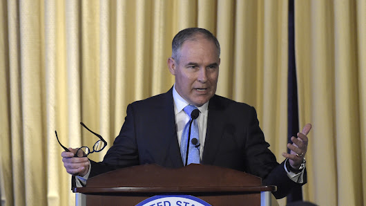EPA Chief Scott Pruitt Questions Basic Facts About Climate Change