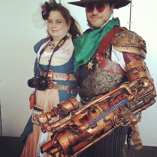 Steampunk is a big thing.