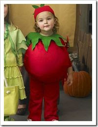 tomato girls DIY costume halloween can you tell i am going for a food theme this year?!