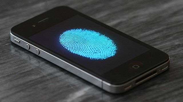 Biometric Finger Sensor for New iPhone
