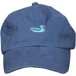 Southern Marsh Washed Logo Hat | Washed Slate w/ Green Duck