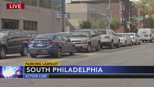 Group sues city over median parking in South Philadelphia |