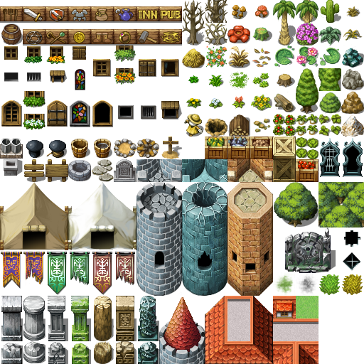 3 Enemies And Tilesets