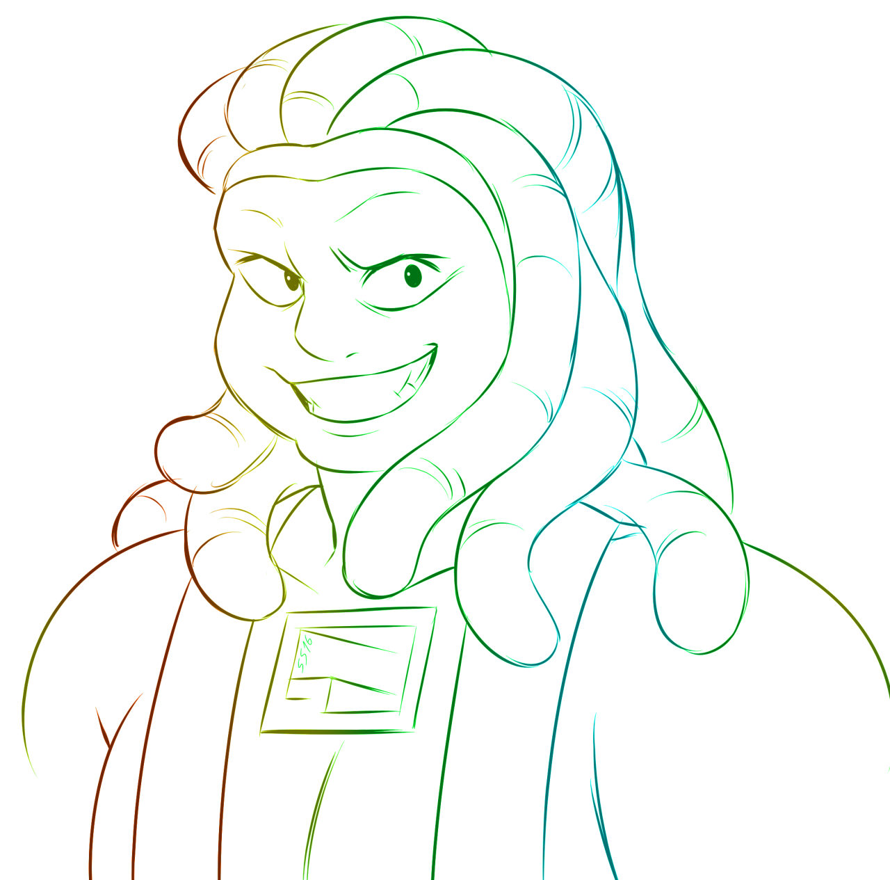 I really wanted to draw Bismuth but didn't want to put any effort into it… oh well… it's also my favorite element from the periodic table