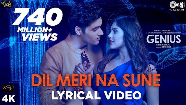Dil meri na sune lyrics - Atif Aslam  | lyrics for romantic song