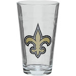 New Orleans Saints 16oz. Sandblasted Mixing Glass