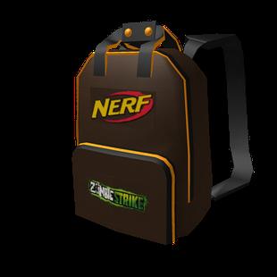 Roblox Nerf Backpack Id