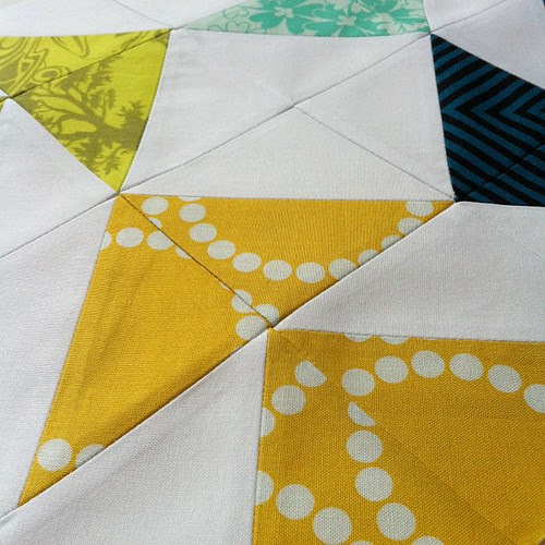 Half-Square Triangle Block of the Month - In Color Order