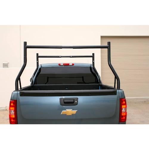 MaxxHaul Black Adjustable Pick-up Truck Rack