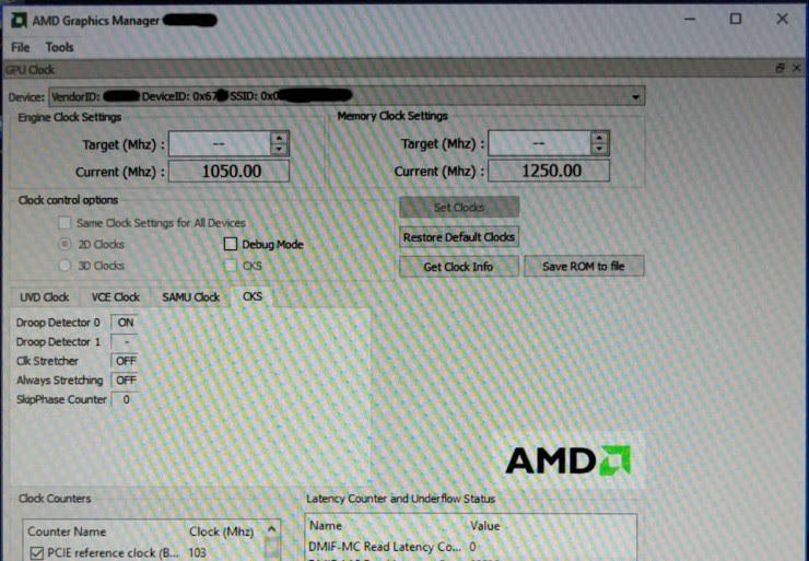 Polaris 10 GPU 67DFC4