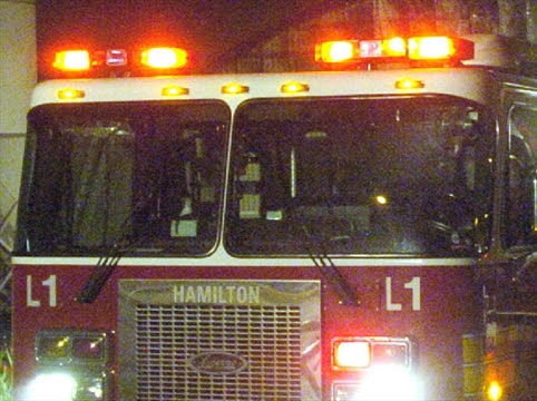 Burlington man burned in kitchen fire