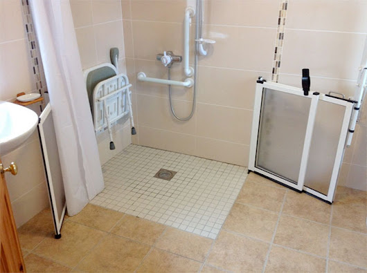 Accessible Wet Room / Walk In Shower Solihull from RW Plumbing UK