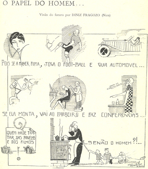 Diniz Fragoso, Bertrand Magazine, The Role of Men, 1927