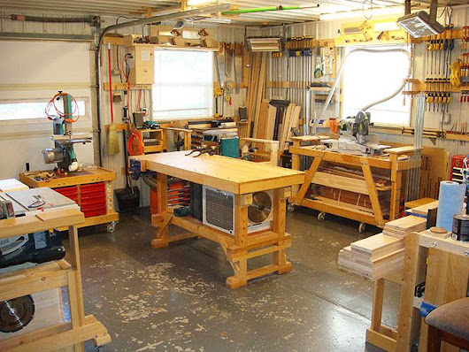 How to Create the Perfect Garage Workshop -